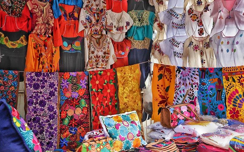 Ajijic outdoor market