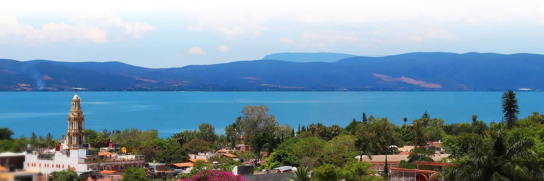 Ajijic Mexico lake view